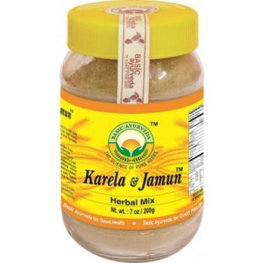 Karela & Jamun Herbal Mix Powder - 200gm