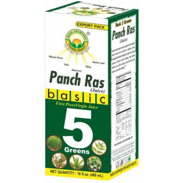 BASIC FIVE GREENS (PANCH RAS) Juice - 480 ML